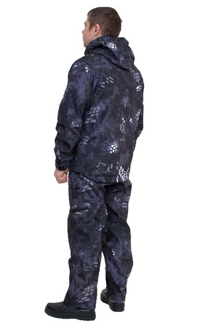 Костюм Форест (ткань Полофлис Чёрный Питон) Вожак