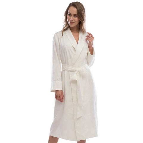 GRANT кремовый женский халат Tivolyo Home Турция