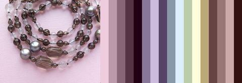 примерная цветовая палитра для одежды под эти бусы
