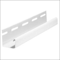 J-профиль для фасадных панелей FineBer Белый