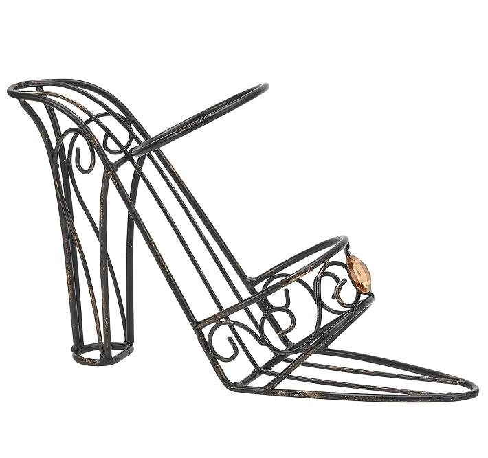 Кухня Держатель для бутылки Boston Warehouse Shoe with Jewels derzhatel-dlya-butylki-boston-warehouse-shoe-with-jewels-ssha.jpg