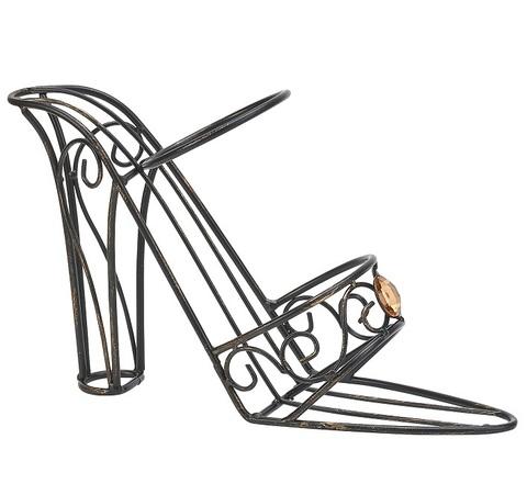 Держатель для бутылки Boston Warehouse Shoe with Jewels