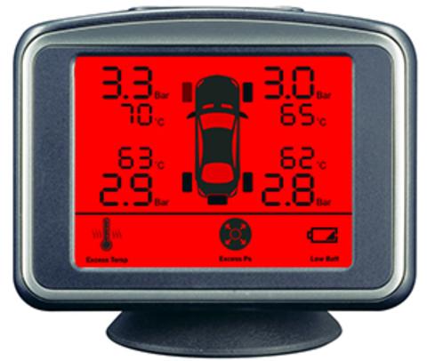 Датчики давления в шинах ParkMaster TPMS 4-06 (4 встраиваемых датчика)