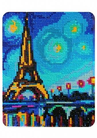 Огни Парижа- алмазная картина, MP009