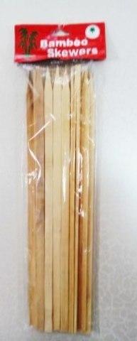 Набор шампуров, бамбук, 30х0,9