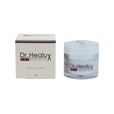 Крем с эпидермальным фактором роста для восстановления и обновления кожи лица DR. HEALUX EGF Renewal Complex Cream