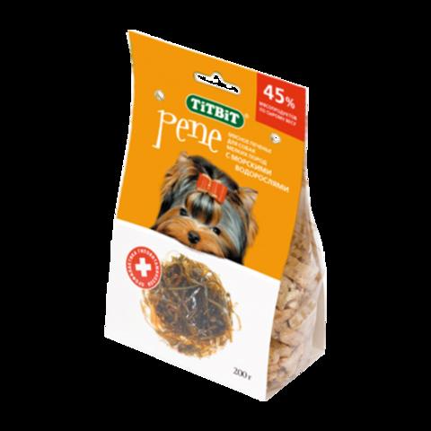 Titbit Pene Лакомство для собак мелких пород печенье c морскими водорослями