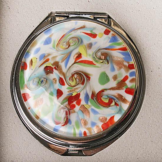 Зеркало мурано микс цвета 454565