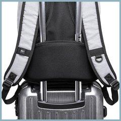 Рюкзак плоский для ноутбука 15,6 KAKA 2237 чёрный