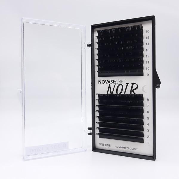 "NovaSecret Ресницы Novasecret NOIR Черные, изгиб ""D"" Noir-D-07.jpg"
