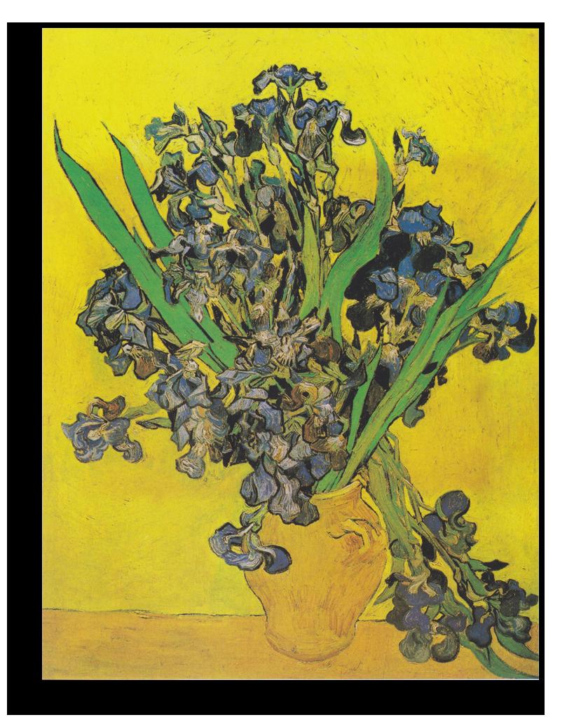 "Ван Гог Репродукция ""Ван Гог - Натюрморт: ваза с ирисами на желтом фоне"" Х46.png"