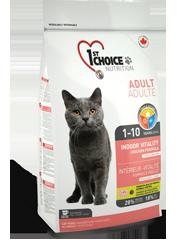 First (1st) Choice VITALITY INDOOR для домашних кошек