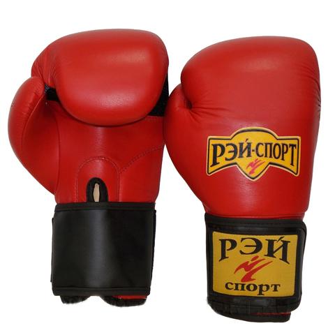 Перчатки боксерские ХУК нат.кожа