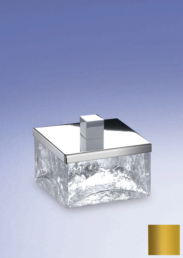 Емкость для косметики малая 88127O Cracked Crystal от Windisch