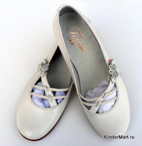 Туфли лодочки кожаные Испания