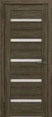 Дверь GreenLine Light 7, стекло сатинат бронза, цвет дуб трюфель, остекленная