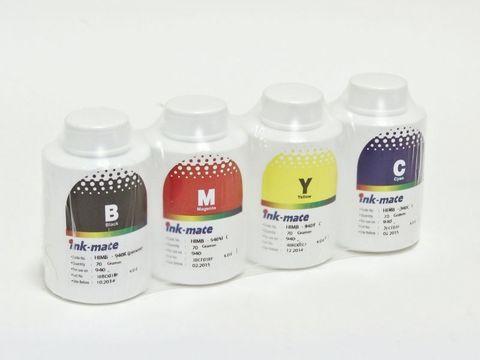 Чернила пигментные Ink-Mate EIM-100/143 Pigment CMYK комплект для Epson C79/C91/T26/S22/SX525 - Epson DuraBright. 4 x 70 мл. Оригинальная фасовка!