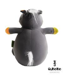 Подушка-игрушка антистресс «Бегемот Няша», оранжевый 3