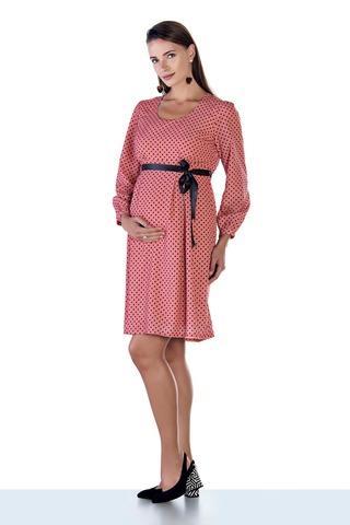 Платье для беременных 08974 розовый