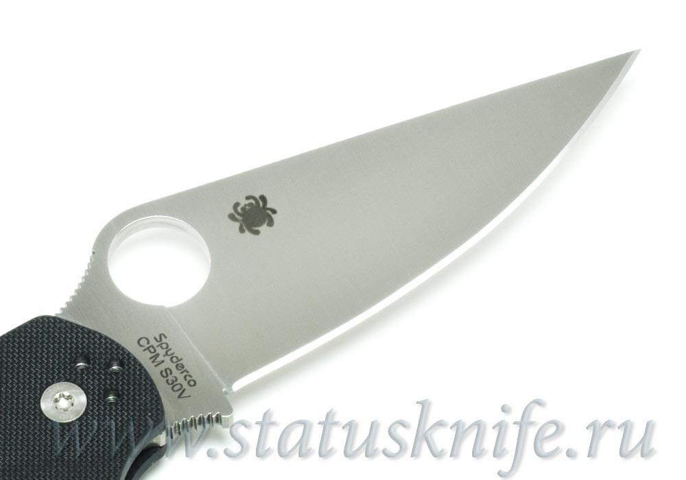 Нож Spyderco Paramilitary 2 Left C81GPLE2