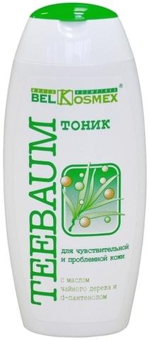 BelKosmex  TEEBAUM Тоник для чувствитвительной и проблемной кожи  150мл