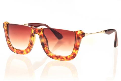 Солнцезащитные очки 9158003s Тигровый - фото