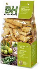 """Итальянские хлебцы """"Baker House""""  с розмарином/чесн. ол. маслом и морск. солью 250 г"""