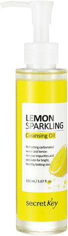 Масло гидрофильное с экстрактом лимона Secret Key Lemon Sparkling Cleansing Oil, 150мл