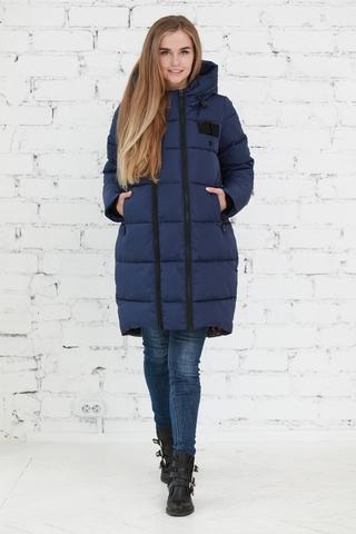 Куртка 2в1 для беременных 10839 синий