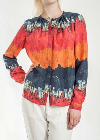Блуза из шелка VIONNET