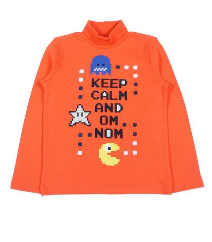 CWK61997 Cherubino Водолазка для мальчика оранжевая
