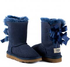 UGG Kids Bailey Bow Navy