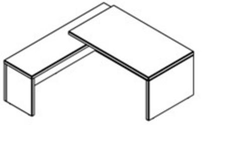TСT 2020 (L/R) Столы руководителя (2000х2000х750)