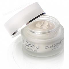 Увлажняющий крем 24 часа для чувствительной кожи  (Eldan Cosmetics | Le Prestige | Idrasensitive 24h creаm), 50 мл