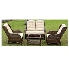 Плетеный комплект мебели из ротанга