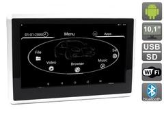 Навесной монитор на подголовник с сенсорным экраном 10.1