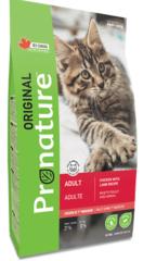 Корм для взрослых кошек, Pronature Original Cat Adult, с курицей и ягненком