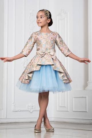 Королевкое платье из парчи (арт.404 гол)
