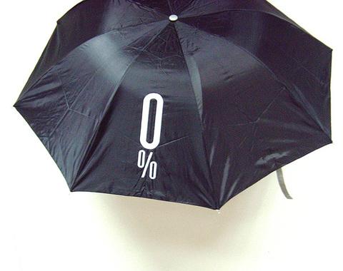 """Зонт в бутылке """"0 %"""""""