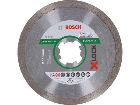 Алмазный отрезной диск Standard for Ceramic X-LOCK 125x22,23x1,6x7