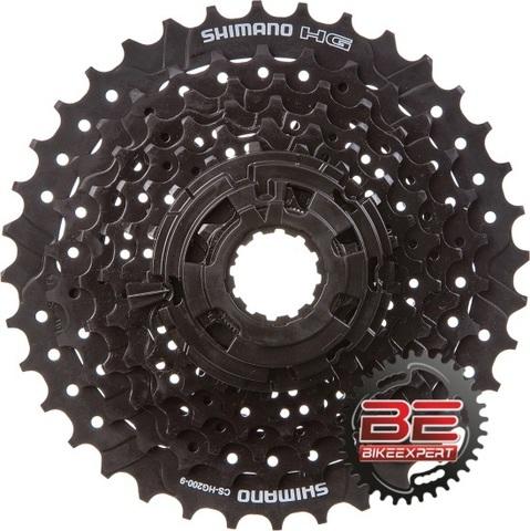 Кассета 9 скоростей Shimano CS HG200