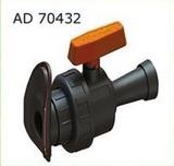 AD 70432 Кран шаровый LFT- 32 мм туман