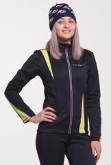 Женская тёплая лыжная куртка Nordski Active Black-Lime