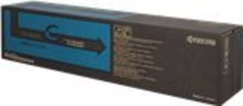 Kyocera TK-8600C - голубой тонер-картридж для принтеров Kyocera FS-C8600DN, C8650DN. Ресурс 20000 страниц.