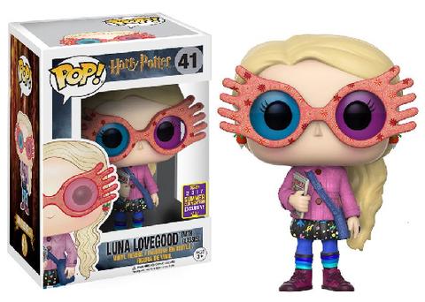 Фигурка Funko Pop! Movies: Harry Potter - Luna Lovegood (with Glasses) (Excl. to San Diego Comic Con)