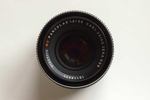 Carl Zeiss Jena Pancolar 50 mm f/ 1.8 MC