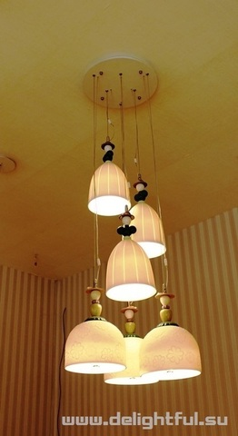 replica Llardo Madermoiselle 6 Lights Seaside Dreams Chandelier