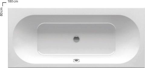 Акриловая ванна Ravak ROSA II 150х105 L белая