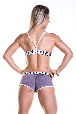 Спортивный топ Nebbia Fitness Bra with hem 267 purple
