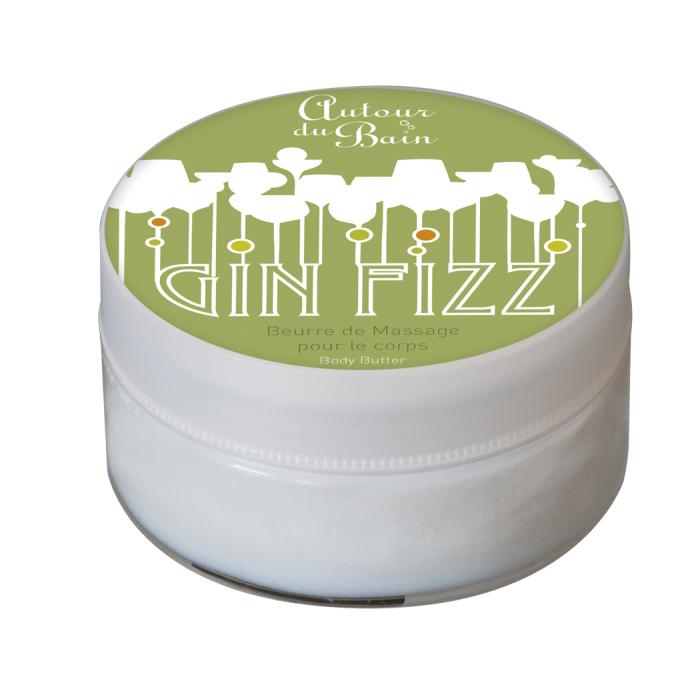 Массажное масло, увлажняющее масло Джин Тоник (Гели и масла для ванны и душа) (Autour Du Bain)